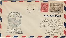 CANADA 1933 FIRST FLIGHT COVER GREAT FALLS TO WADHOPE