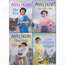 Anna Jacobs 4 Books Collection Set pack Our Polly Our Eva Our Mary Ann Our Lizzi