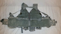 LIGHTWEIGHT MOLLE II ACU FLC ADJUSTABLE FIGHTING LOAD CARRIER W/ POUCHES JJ 1024