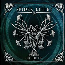 SPIDER LILIES Error EP CD Digipack 2014