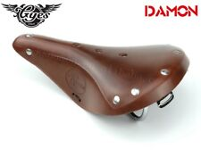 Gyes GS-17 MTB Bicycle Saddle Cow Leather Retro Road Mountain Bike Seat Cushion