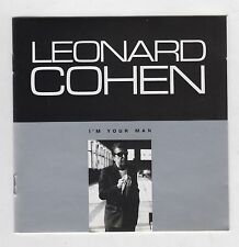 LEONARD COHEN  =  {CD - 8 TRACKS}  =  I'M YOUR MAN  =