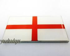 Enamel England FLAG car badge Saint George St Land Rover Jaguar UK