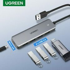Ugreen USB HUB 3.0 External 4Port USB Splitter with Micro Power Port for iMac PC