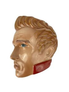 Clay Art Mask Of  James Dean Open Mouth Ceramic