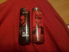 (2) THE GODFATHER FULL SIZE BIC DISPOSABLE LIGHTERS