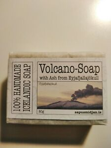 Handmade Icelandic Soap With Volcano Ash From Eyjafjallajokull - Iceland Gift