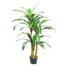 4 ft Árbol Artificial Dracena yuca planta-Exótico En Maceta Para El Hogar Y La Oficina