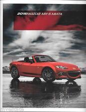 2015 15 Mazda  MX5 Miata   Original sales brochure MINT