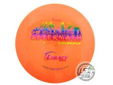 New Legacy Discs Icon Aftermath 167g Orange Rainbow Foil Driver Golf Disc