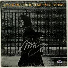 """Neil Young Autographed album """" After the Gold Rush """" signed Psa Dna Coa [Csny]"""