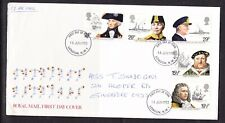 Great Britain  1982 Maritime Heritage First Day Cover to Singapore