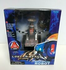 LOST IN SPACE 1997 BATTLE RAVAGED ROBOT Action Figure with Movie Sounds