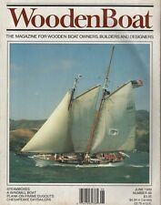 """WOODEN BOAT"" MAGAZINE No.88 (June 1989) STEAMBOXES - DANISH SEINERS -CARTOPPERS"