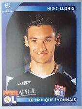 PANINI 350 Hugo Lloris Olympique Lyonnais UEFA CL 2008/09
