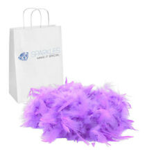 2yd Lavender Feather Boa Birthday Bachelorette Party Wedding Special Event Decor