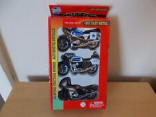 Yat Ming 3 Model Motorcycles - Road Tough 2000-3G Super Bikes - approx 10cm long