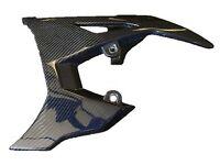 Fits Polaris Slingshot 15-17 OE Style Blue Carbon Fiber Belt Guard Cover