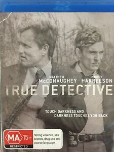 TRUE DETECTIVE - Season 1 3 x Disc BLURAY Set AS NEW! Complete First Series One