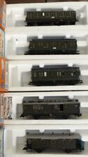 Roco 44207,44208,44221,44505,44511 Konvolut 5 Personenwagen der DRG Ep.2 H0, OVP