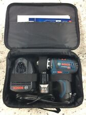 Bosch 12-volt Max 3/8-in Cordless Drill Kit W/ 2 Batteries And Charger - Display