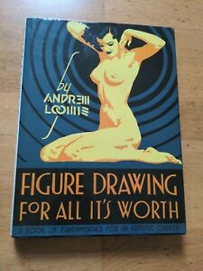 Figure Drawing for All it's Worth by Andrew Loomis (Hardcover, 2011)