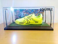 Fußballschuh, Schürrle signiert, Beleuchtung Deutschland Weltmeister Fußball Neu