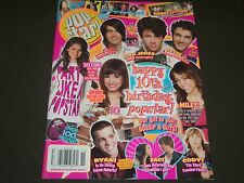 2008 NOVEMBER POP STAR! MAGAZINE - JONAS BROTHERS COVER - POSTER - O 6423