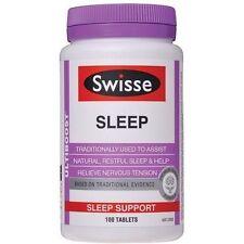 2 X Swisse Ultiboost Sleep 100 Tablets Great Postage