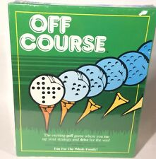 Off Course The Exciting Golf Board Game 1986 EXTREMELY RARE!!!  Masters Tiger