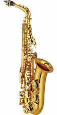 New YAMAHA Alto Sax YAS-62 III w/ case & mouthpiece oSaxophone Lacquered