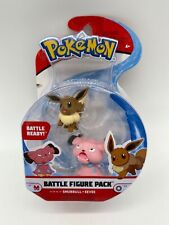 Pokemon Battle Figure Pack EEVEE & SNUBBULL WCT New