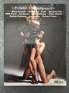 PURPLE FASHION MAGAZINE Fall Winter 2008 - 2009 Vol III Issue 10 Dash Snow