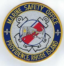 USCG Marine Safety Office, Providence, RI  (US Coast Guard Patch)