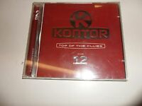 Cd  Kontor - Top of the Clubs Vol. 12 von Various (2001) - Doppel-CD