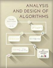 Analysis and Design of Algorithms by Amrinder Arora Paperback Book Free Shipping