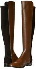 Clarks Ladies Long Boots CADDY BELLE Tan Leather UK 4.5 / 37.5 RRP £150