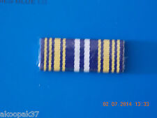 AUSTRALIAN FEDERAL POLICE SERVICE MEDAL AFPSM RIBBON BAR PLASTIC COVERED 2 PINS