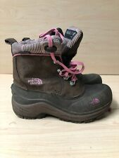 THE NORTH FACE TODDLER GIRLS SNOW BOOT BROWN SIZE US 2