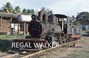 ORIGINAL 35MM CUBA CUBAN RAILWAY SLIDE-BLW 1236 C.PEPITO TEY RWY,CIENFUEGOS 1985
