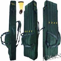 Delta Fishing Rutentasche 4 Fach 165 CM Angel Tasche Futteral Rutenfutteral Sha