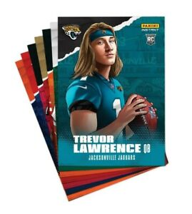 2021 Panini Instant Draft Night Illustration Series 7 Card Rookie Set *Pre-Sell*