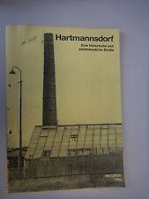 Hartmannsdorf -Eine historische und städtebauliche Studie / Leipzig OT Hartmann