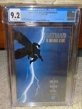 Batman: The Dark Knight Returns #1 CGC 9.2 DC 1986 White Pages! JLA! M9 214 cm