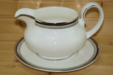 """Royal Doulton Sarabande Gravy Boat or Sauce Bowl with Underplate, 6 3/4"""""""