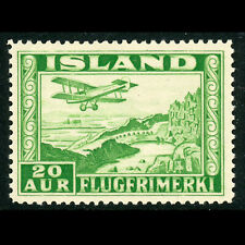 ICELAND 1934 20a Air. Perf 14. SG 209a. Lightly Hinged Mint. (WF339)