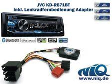 JVC KD-R871BT inkl. Lenkrad Fernbedienung Adapter für Nissan Micra Bj. Bis 200 .