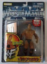WWE Wrestlemania XV The Rock Fully Loaded WWF Action Figure - Jakks Pacific VTG