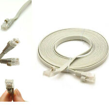10M Cat.6 RJ-45 Ultra-Thin Flat Ethernet Network Cable Patch Internet Lan Hots