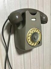 TELEFONO S62 a parete con disco combinatore AUSO SIEMENS vintage rotary phone